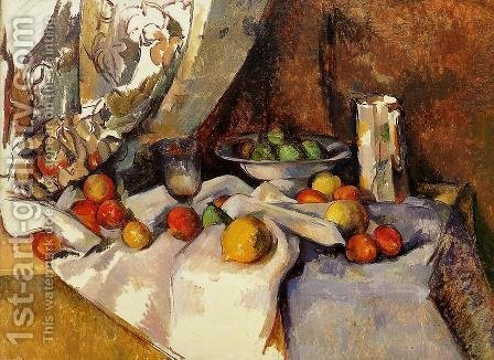 Still Life With Apples5 by Paul Cezanne - Reproduction Oil Painting