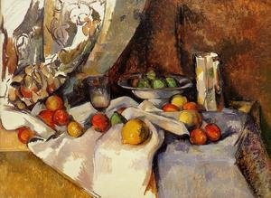Famous paintings of Plates & Bowls: Still Life With Apples5