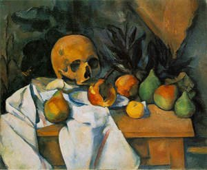 Famous paintings of Skeletons: Still Life With Skull