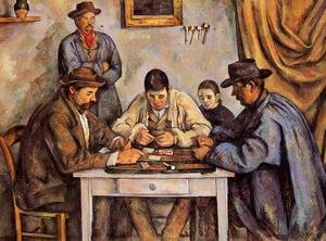 Reproduction oil paintings - Paul Cezanne - The Card Players2