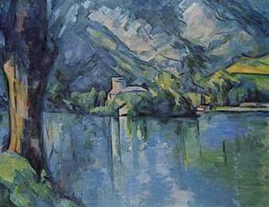 Paul Cezanne reproductions - The Lac D Annecy