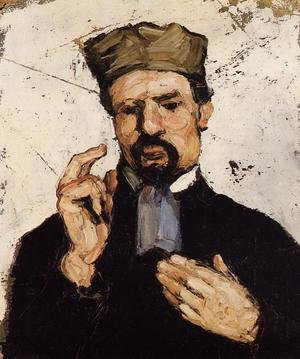 Reproduction oil paintings - Paul Cezanne - Uncle Dominique As A Lawyer