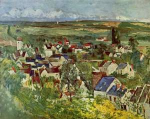 Reproduction oil paintings - Paul Cezanne - View Of Auvers Sur Oise