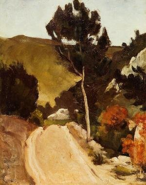Reproduction oil paintings - Paul Cezanne - Winding Road In Provence