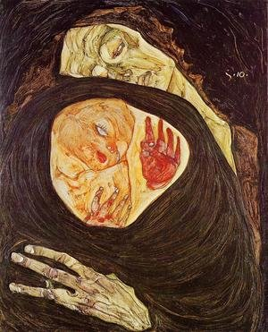 Reproduction oil paintings - Egon Schiele - Dead Mother