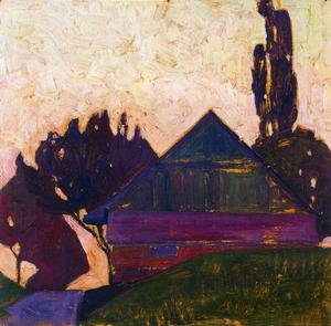 Expressionism painting reproductions: House Between Trees I