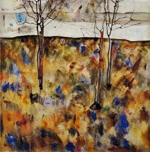 Egon Schiele reproductions - Winter Trees