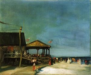 Reproduction oil paintings - Robert Henri - At Far Rockaway