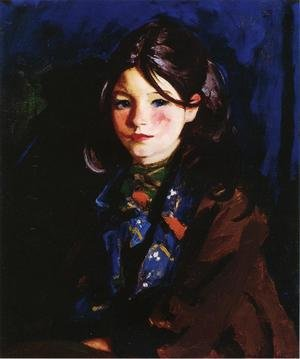 Reproduction oil paintings - Robert Henri - Letecia