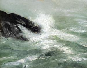 Ashcan School painting reproductions: Marine   Storm Sea