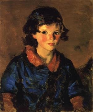 Reproduction oil paintings - Robert Henri - Mary Ann Caferty