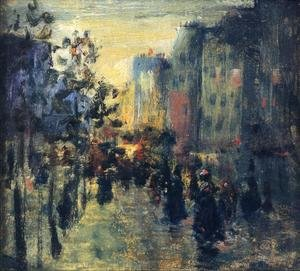 Reproduction oil paintings - Robert Henri - Misty Effect  Paris