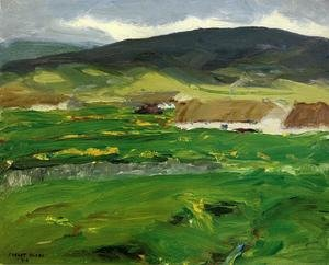 Reproduction oil paintings - Robert Henri - O Malley Home Aka Achill Island  County Mayo  Ireland