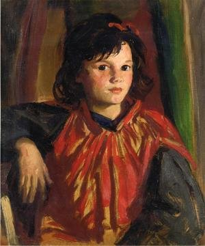 Reproduction oil paintings - Robert Henri - Pegeen