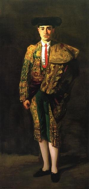 Reproduction oil paintings - Robert Henri - Portrait Of El Matador  Felix Asiego