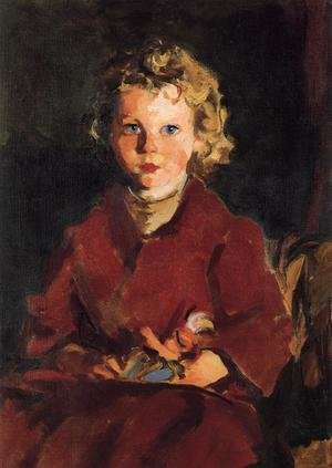 Reproduction oil paintings - Robert Henri - Rosaleen