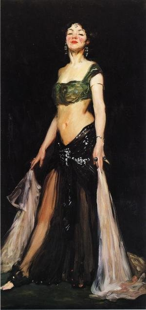 Reproduction oil paintings - Robert Henri - Salome2