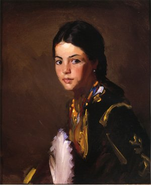 Reproduction oil paintings - Robert Henri - Segovian Girl