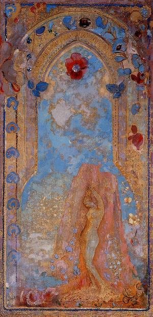 Reproduction oil paintings - Odilon Redon - Andromeda