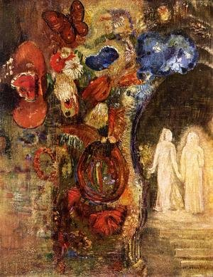 Reproduction oil paintings - Odilon Redon - Apparition