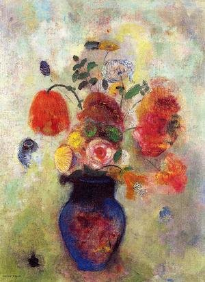 Famous paintings of Vases: Bouquet Of Flowers2