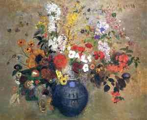 Reproduction oil paintings - Odilon Redon - Flowers3
