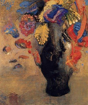 Reproduction oil paintings - Odilon Redon - Flowers4