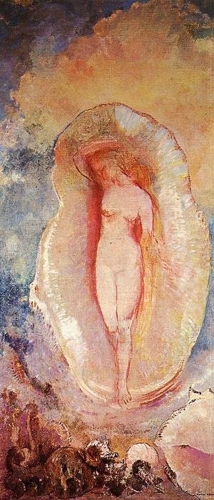 Reproduction oil paintings - Odilon Redon - The Birth Of Venus