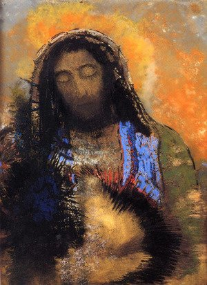 Reproduction oil paintings - Odilon Redon - The Sacred Heart