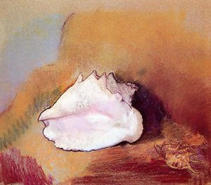 Reproduction oil paintings - Odilon Redon - The Seashell