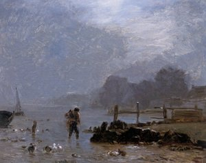 Realism painting reproductions: The Fisherman