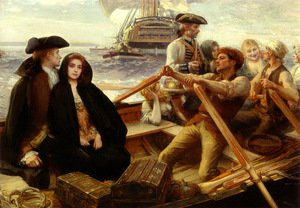 Reproduction oil paintings - Albert Lynch - The Jolly Boat