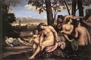Mannerism painting reproductions: Death of Adonis 1511-12