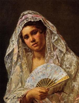 Reproduction oil paintings - Mary Cassatt - A Seville Belle