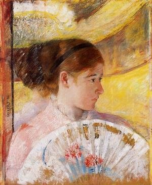 Reproduction oil paintings - Mary Cassatt - At The Theater