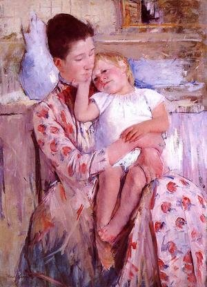 Reproduction oil paintings - Mary Cassatt - Emmie And Her Child