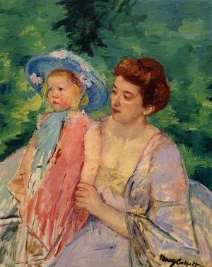Reproduction oil paintings - Mary Cassatt - En Bateau  Le Bain