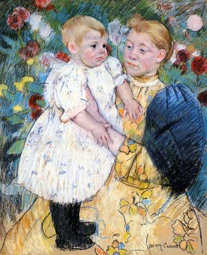 Reproduction oil paintings - Mary Cassatt - In The Garden