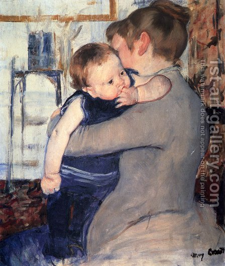 Mary Cassatt: Mother And Child - reproduction oil painting