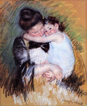 Reproduction oil paintings - Mary Cassatt - Mother And Child2