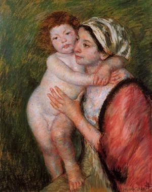 Reproduction oil paintings - Mary Cassatt - Mother And Child4