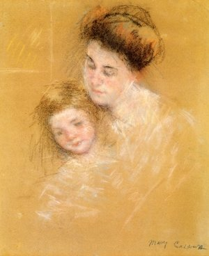 Reproduction oil paintings - Mary Cassatt - Mother And Child6
