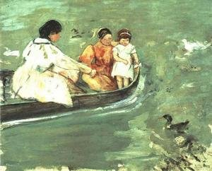 Reproduction oil paintings - Mary Cassatt - On The Water