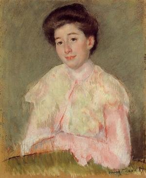 Reproduction oil paintings - Mary Cassatt - Portrait Of A Lady