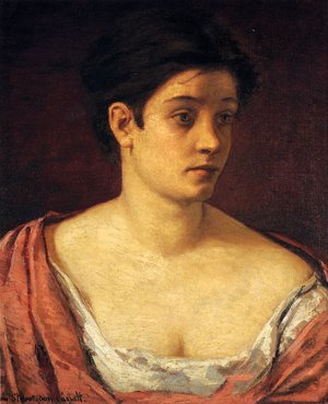 Reproduction oil paintings - Mary Cassatt - Portrait Of A Woman