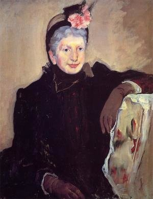 Reproduction oil paintings - Mary Cassatt - Portrait Of An Elderly Lady