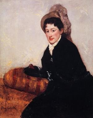 Reproduction oil paintings - Mary Cassatt - Portrait Of Madame X Dressed For The Matinee