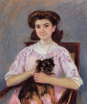 Reproduction oil paintings - Mary Cassatt - Portrait Of Marie Louise Durand Ruel