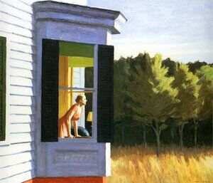 Reproduction oil paintings - Edward Hopper - Cape Cod Morning