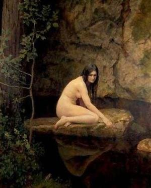 Reproduction oil paintings - John Maler Collier - The Water Nymph